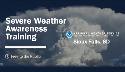 Severe Weather Awareness Training Session