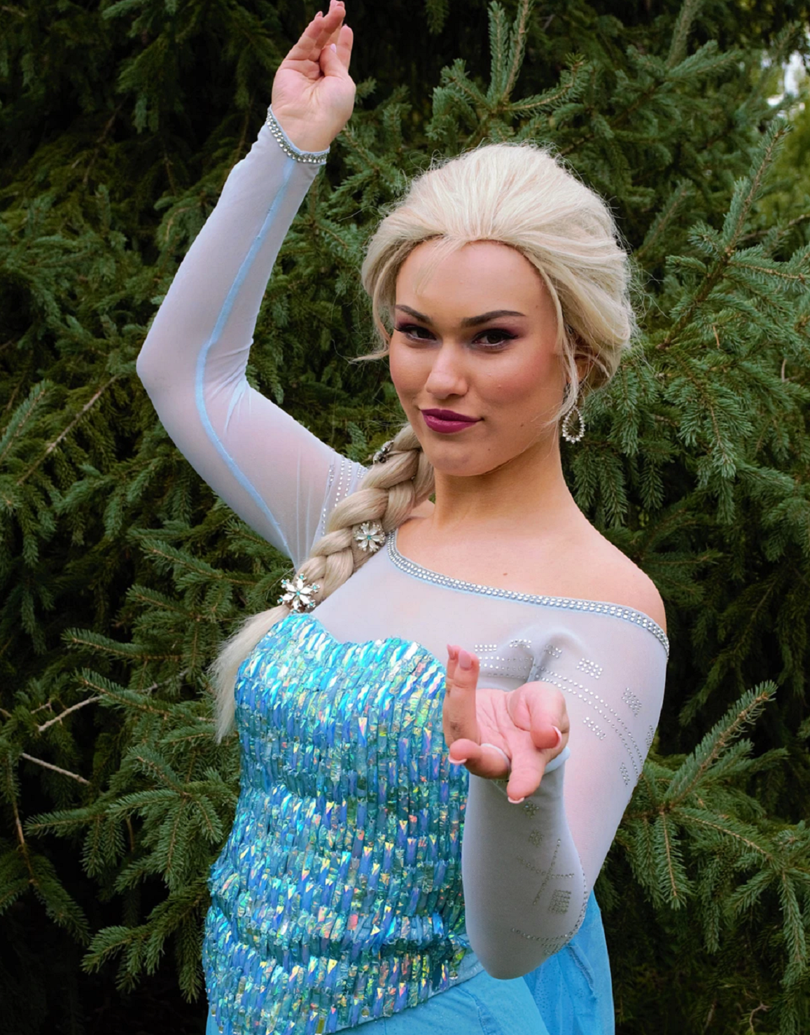 Ice Queen from Simply Ever After Entertainment