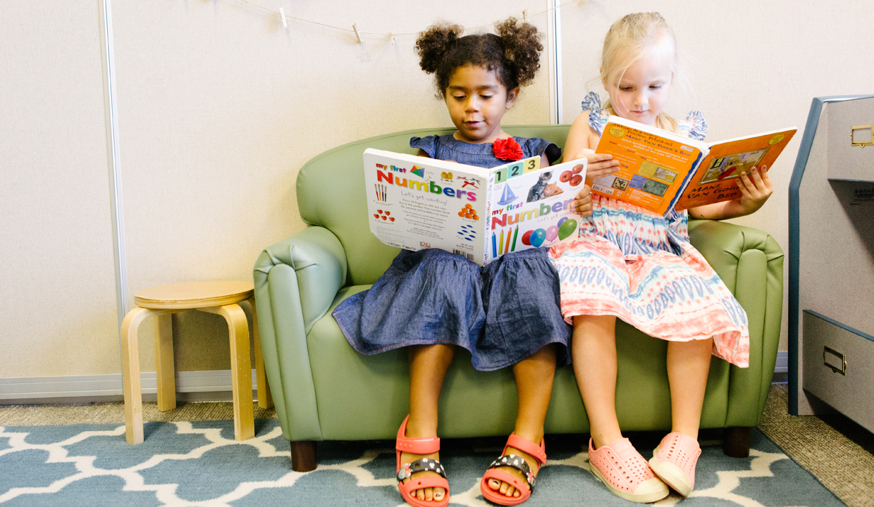 preschool children reading