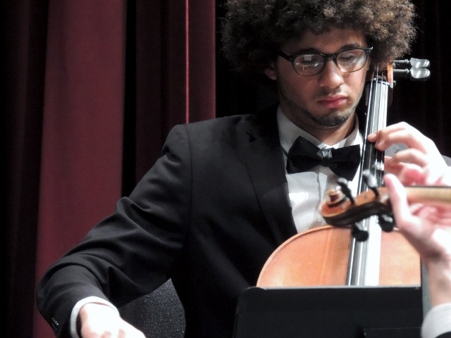 Student Performing