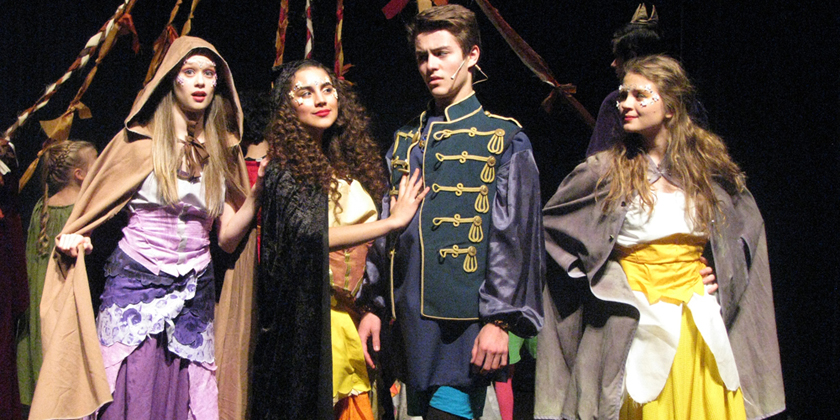 DAPA actors in Sleeping Beauty