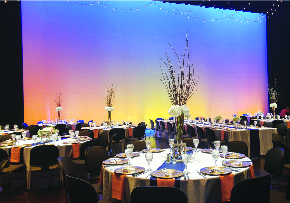 Wedding Reception on the Mary W. Sommervold Hall Stage